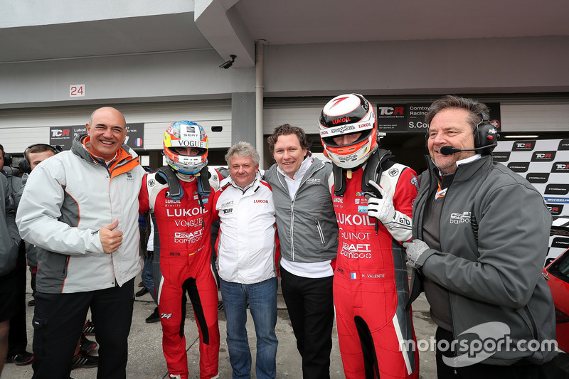 Pepe Oriola, Lukoil Craft-Bamboo Racing, SEAT León TCR e Hugo Valente, Lukoil Craft-Bamboo Racing, SEAT León TCR