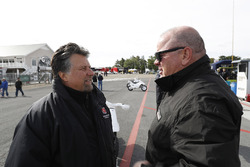 Honda Team Owners Michael Andretti and Chip Ganassi