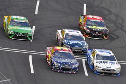 JJ Yeley, Danica Patrick, Stewart-Haas Racing Ford