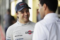 Felipe Massa, Williams; Karun Chandhok