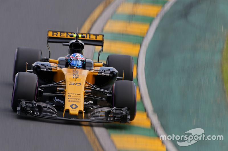 Ausfall: Jolyon Palmer, Renault Sport F1 Team
