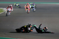 Johann Zarco, Monster Yamaha Tech 3 crash