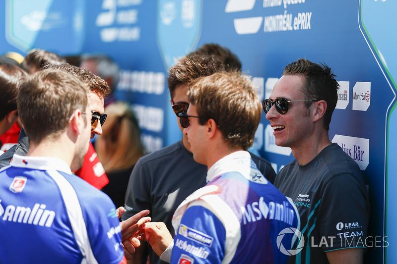 Antonio Felix da Costa, Amlin Andretti Formula E Team, Adam Carroll, Jaguar Racing