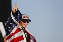 Le Champion Josef Newgarden, Team Penske Chevrolet