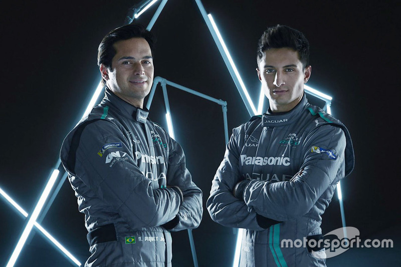 Nelson Piquet Jr., Mitch Evans, Jaguar Racing