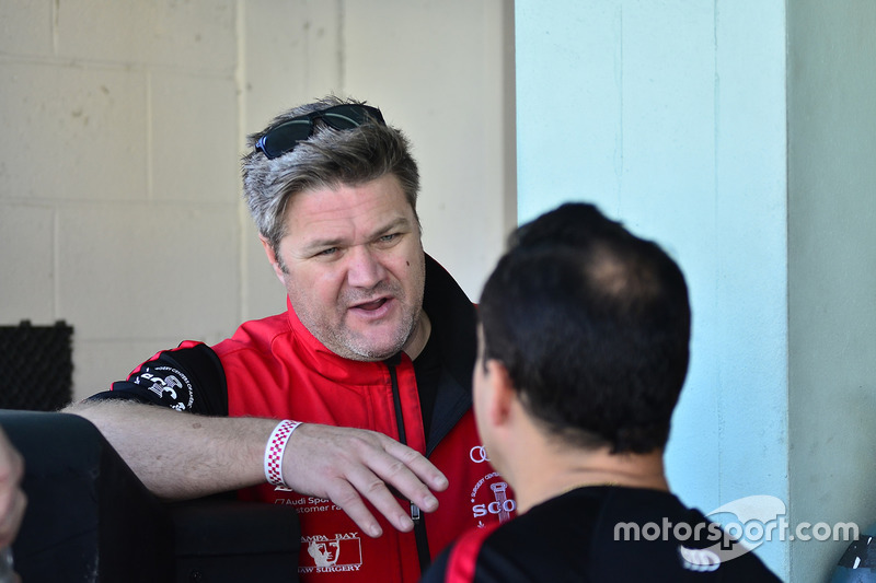 Remi Lanteigne de M1GT Racing