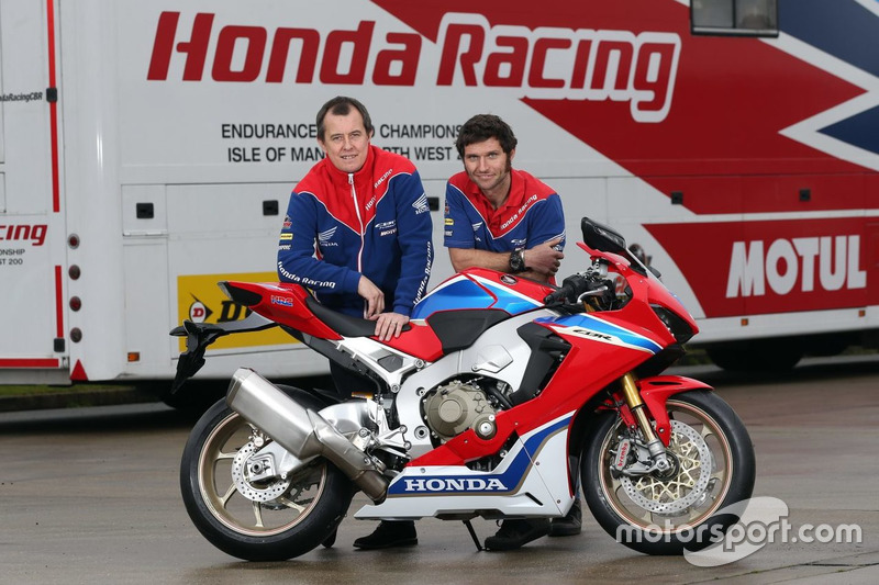 John McGuinness y Guy Martin, Honda Racing