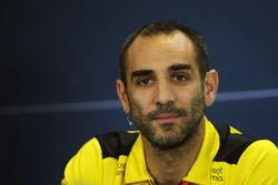 Cyril Abiteboul, Renault Sport F1 Director en la Conferencia de prensa FIA
