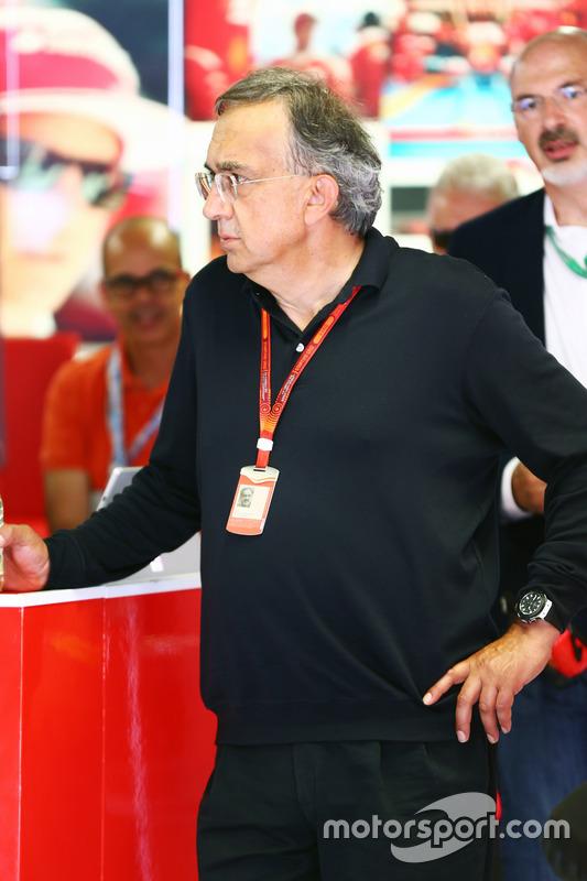 Sergio Marchionne, Presidente Ferrari eCEO di Fiat Chrysler Automobiles