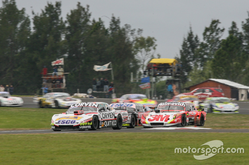 Mariano Werner, Werner Competicion Ford, Juan Marcos Angelini, UR Racing Dodge, Guillermo Ortelli, JP Racing Chevrolet