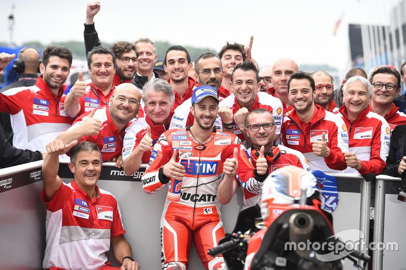 Pole pozisyonu: Andrea Dovizioso, Ducati Team