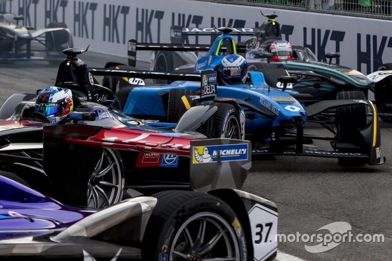 Maro Engel, Venturi; Nicolas Prost, Renault e.Dams