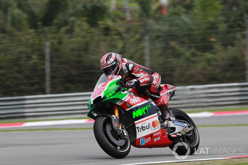 18. Sam Lowes, Aprilia Racing Team Gresini