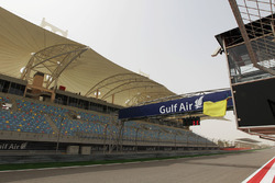 Yellow flag is waved at the start and finish straight