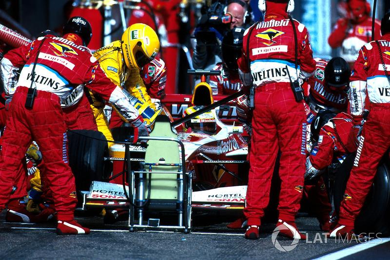 4. sıra Ralf Schumacher, Williams Supertec FW21