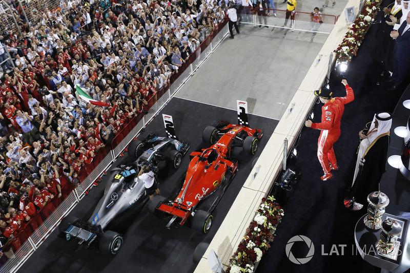 Святкування переможця Себастьяна Феттеля, Ferrari