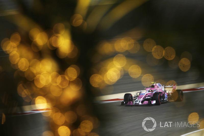 12 місце — Естебан Окон, Force India. Умовний бал — 9,498