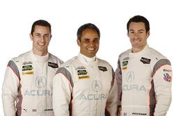 Dane Cameron, Juan Pablo Montoya, Simon Pagenaud, Acura Team Penske