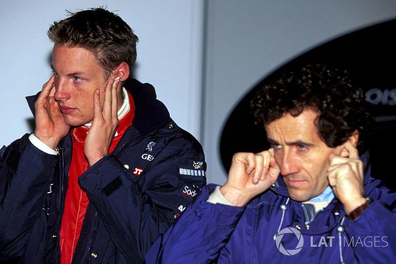 Дженсон Баттон і Ален Прост, Prost Grand Prix