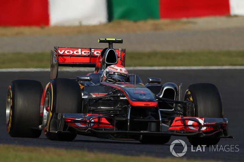 2011: Дженсон Баттон, McLaren-Mercedes MP4-26