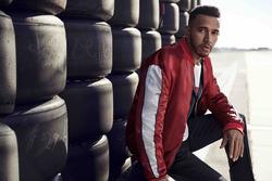 Lewis Hamilton, Tommy Hilfiger fashion photoshoot