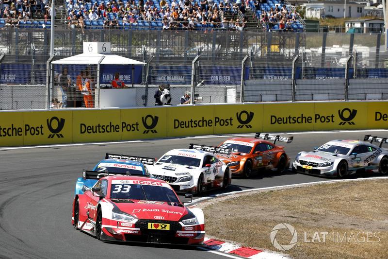 Рене Раст, Audi Sport Team Rosberg, Audi RS 5 DTM попереду
