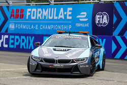 Alejandro Agag, CEO, Formula E drives Actress Liv Tyler around the circuit