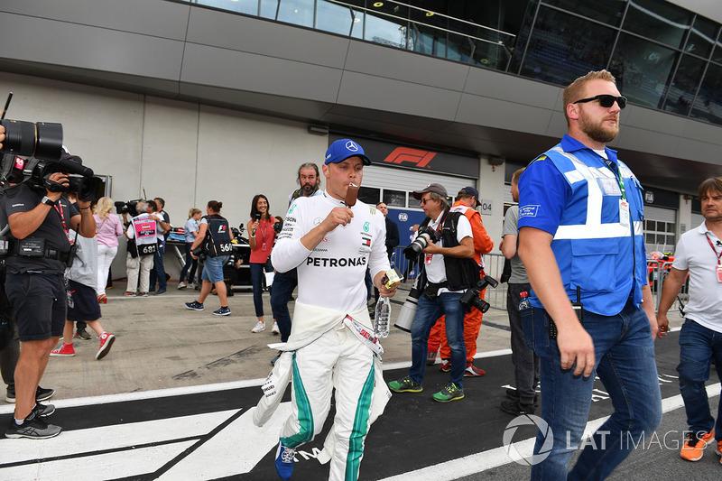 Valtteri Bottas, Mercedes-AMG F1 and ice cream
