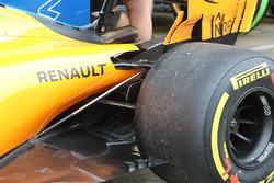 McLaren MCL33 rear suspension detail