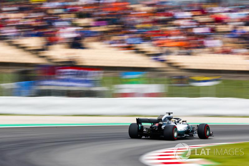 Гран Прі Іспанії: Льюіс Хемілтон — Валттері Боттас — 0,040 секунди