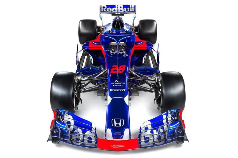 Presentación Toro Rosso STR13