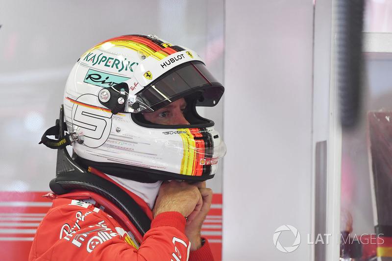 GP Hongaria - Sebastian Vettel