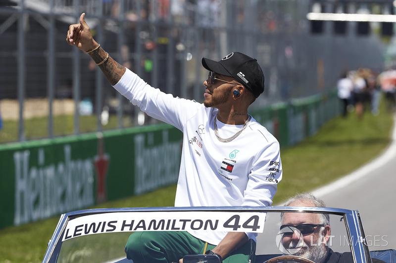 Lewis Hamilton le daría la bienvenida a Márquez a la F1