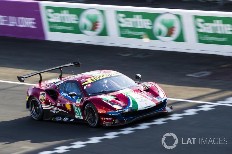 4. LMGTE-Pro: #51 AF Corse, Ferrari 488 GTE EVO