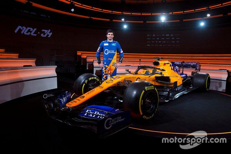Карлос Сайнс-мол., McLaren