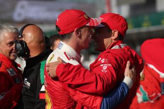 Ganadores GT Pro #51 AF Corse Ferrari 488 GTE EVO: Alessandro Pier Guidi, James Calado