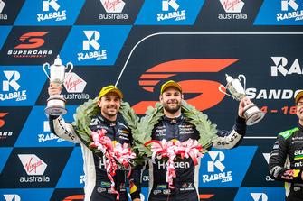 Podium: second place Shane van Gisbergen, Earl Bamber, Triple Eight Race Engineering Holden
