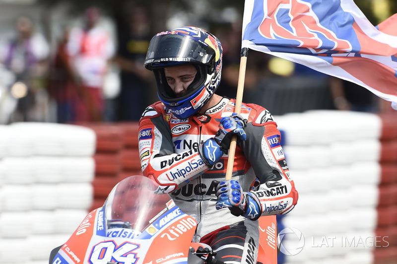 10 Гран Прі Чехії - переможець Андреа Довіціозо, Ducati Team