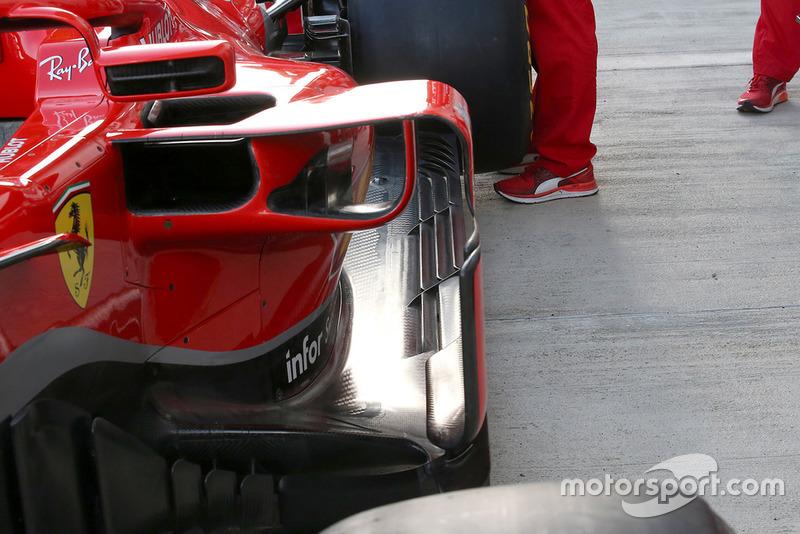 Ferrari SF71H, részlet