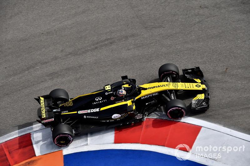 23. Artem Markelov, Renault Sport F1 Team R.S. 18
