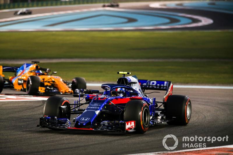 П'єр Гаслі, Scuderia Toro Rosso STR13, Фернандо Алонсо, McLaren MCL33
