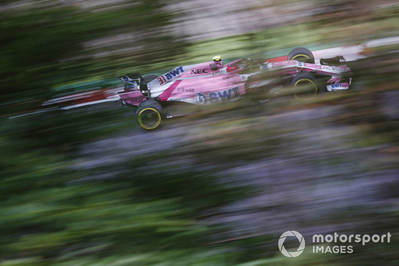 Эстебан Окон, Racing Point Force India F1 VJM11