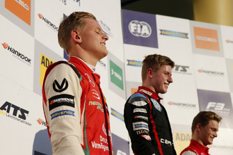 Podyum: 2018 Şampiyonu Mick Schumacher, PREMA Theodore Racing Dallara F317 - Mercedes-Benz