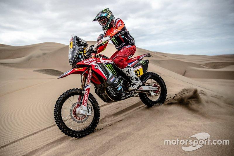 #47 Monster Energy Honda Team Honda: Kevin Benavides