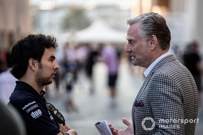 Серхіо Перес, Racing Point Force India, комерційний директор Ф1 Шон Бретчес
