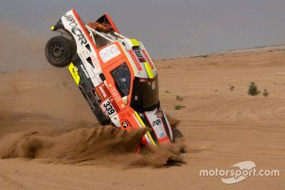 Martin Kolomy crashes