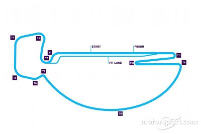 Santiago ePrix track layout change