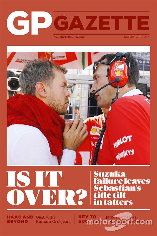 GP Gazette 019 Japanese GP cover