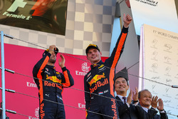 Podyum: 2. Max Verstappen, Red Bull Racing