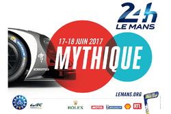 Poster per la 24 Ore di Le Mans 2017